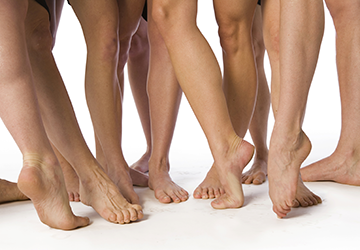 viele Füße